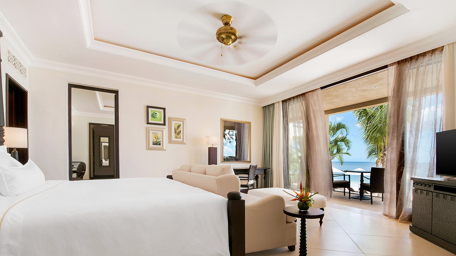 Westin Turtle Bay Mauritius Banyan Suite Bedroom