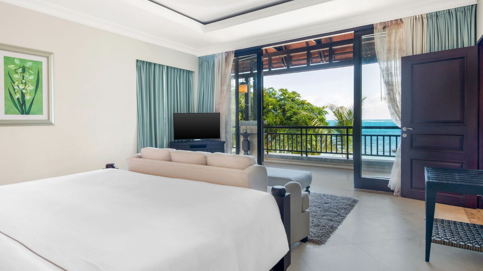 Westin Turtle Bay Mauritius Ocean Suite Bedroom