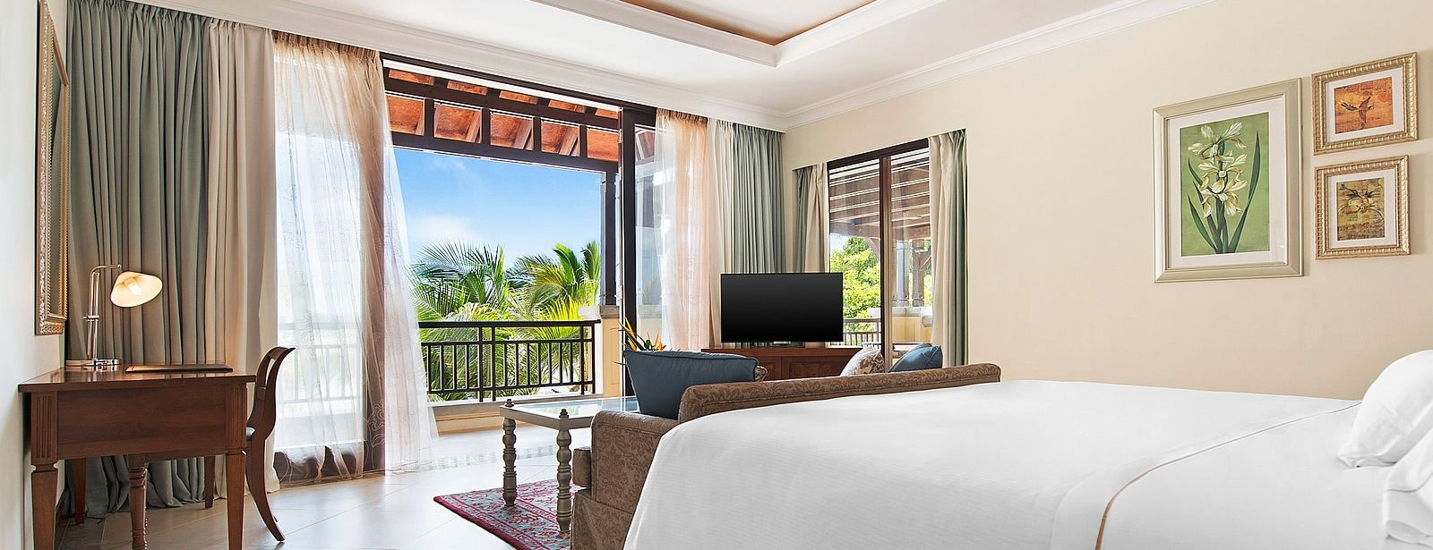Westin Turtle Bay Mauritius Junior Suite Bedroom